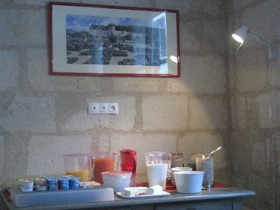 Hotel de Biencourt: Buffet petit dejeuner 2