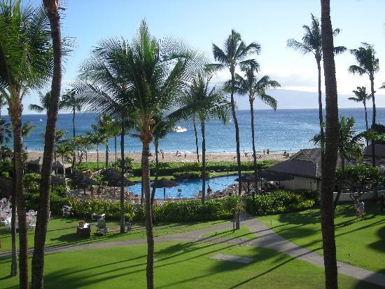 Sheraton Maui Resort & Spa: veduta di spiaggia e piscina