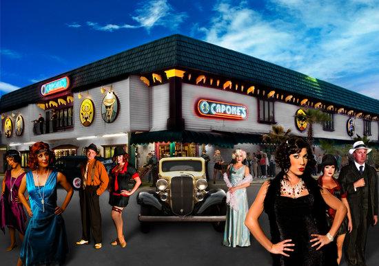 Capone's Dinner & Show: exterior