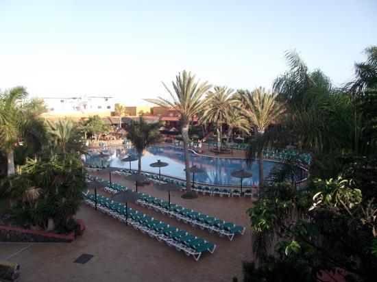 Oasis Village: free sunbeds