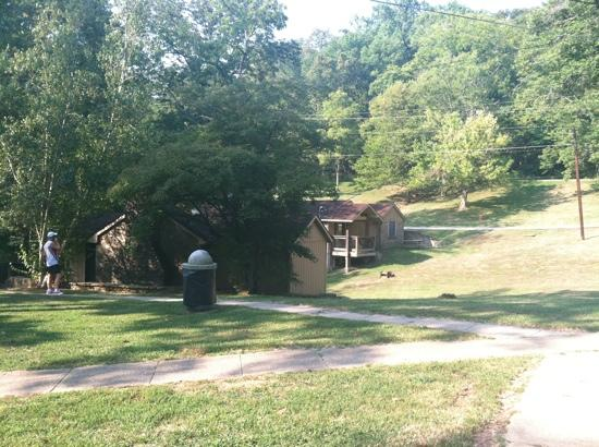 General Butler State Resort: Two cabins