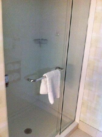 SpringHill Suites Chicago Waukegan/Gurnee: spacious shower