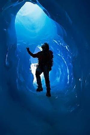 Hosteria Meulen: Grietas del Glaciar