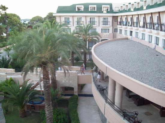 Armas Labada Hotel : View from the room - Asdem beach hotel