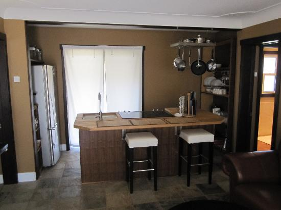 Lakeside Suites Crystal Beach: Fully equipped kitchens