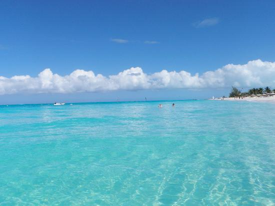 Grace Bay: turquoise water