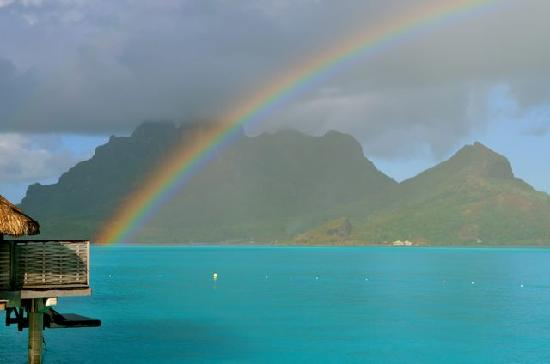Four Seasons Resort Bora Bora: after rain