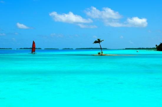 Four Seasons Resort Bora Bora: small island