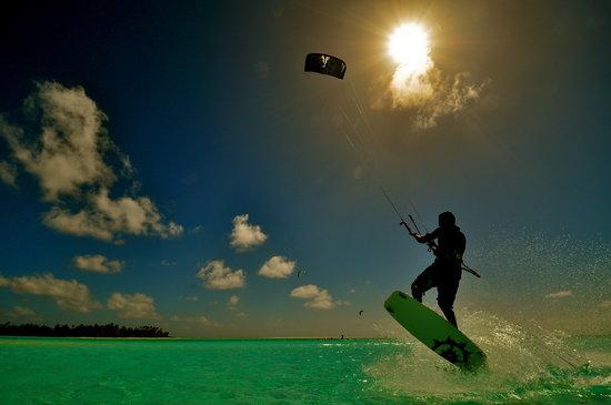 Kiteboard Aitutaki