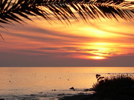 El Oceano Beach Hotel : Sunset / Artardecer / Coucher de soleil 1