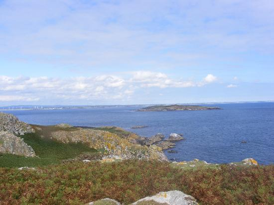 Kilmore Quay, Ireland: A view of Little Saltee from the Great Saltee