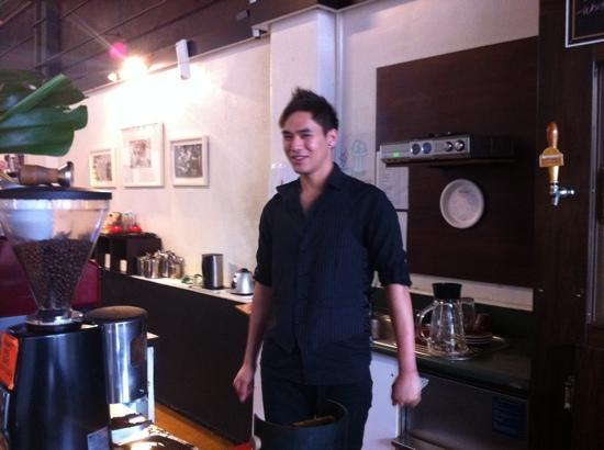 BOB : the coffee man!