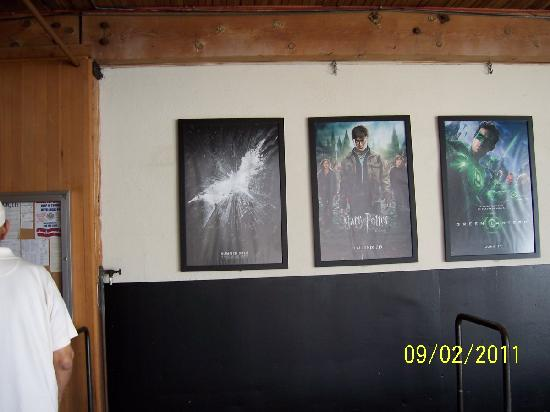 Warner Bros. Studio Tour Hollywood: Current & Future Movie Posters
