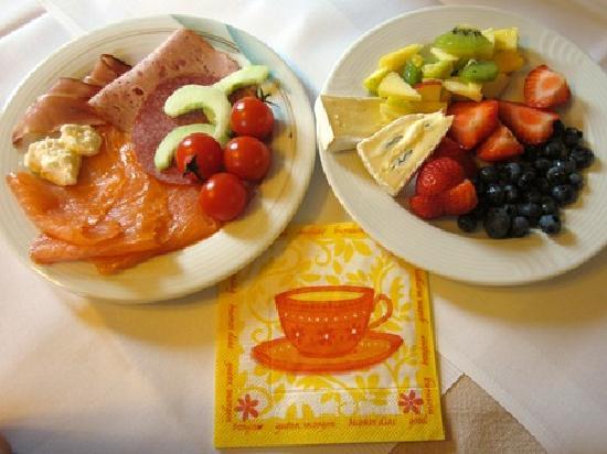 Hotel Restaurant Kreuz: 充実した朝食