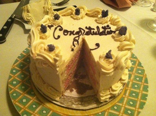 Chez Nous: Special cake