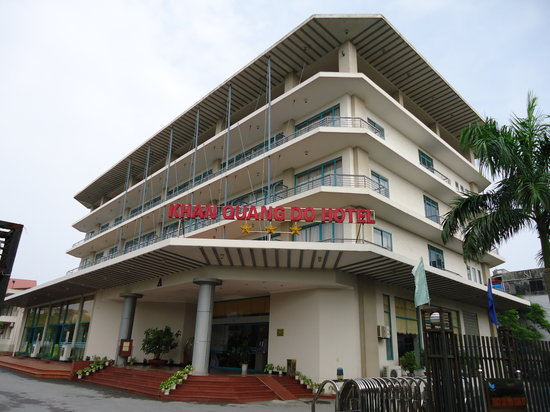 Khan Quang Do Hotel: Front view of hotel