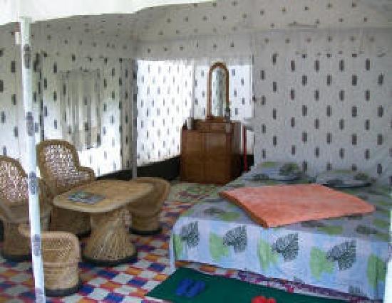 Kalpa, India: Bed Room Area