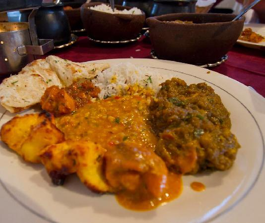 Anghiti Restaurant: Curries