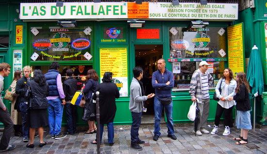 L'As du Fallafel: Such an atmosphere!