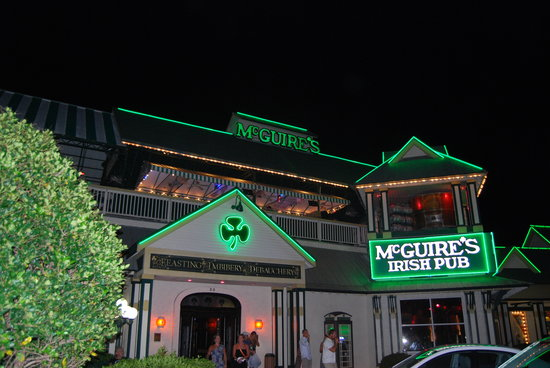 Million Dollar Restaurant Review Of Mcguire S Irish Pub Destin Fl Tripadvisor