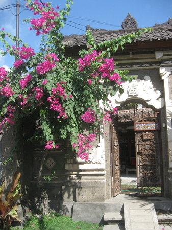 Teka-Teki House: Main house entrance