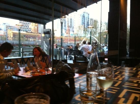 Ludlow Bar Dining Room View Towards Cbd