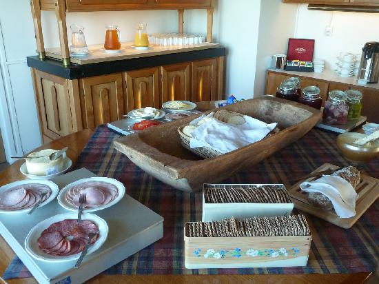 Kungshaga Hotell: Frühstücksbuffet