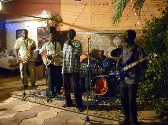 Blue Stars Band at Papa Costas