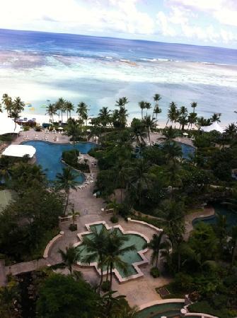 Hyatt Regency Guam: 11階から