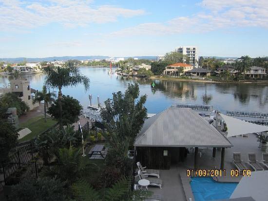 Moorings on Cavill: View from balcony 2