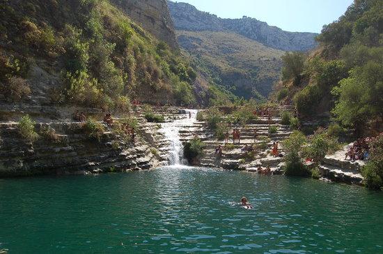 Avola, Ιταλία: la cascata