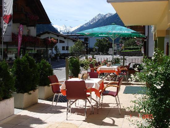 Apart Hotel Rosmarin: Terasse