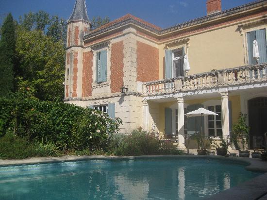 Mas D'Arvieux: el mas visto desde la piscina