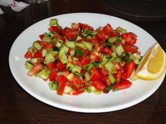 Pasa Bey Kebapcisi: insalata
