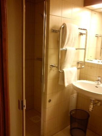 Elite Hotel Residens: Bathroom