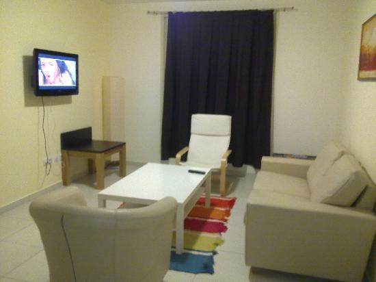 Aparthotel Praia Paraiso: Living area