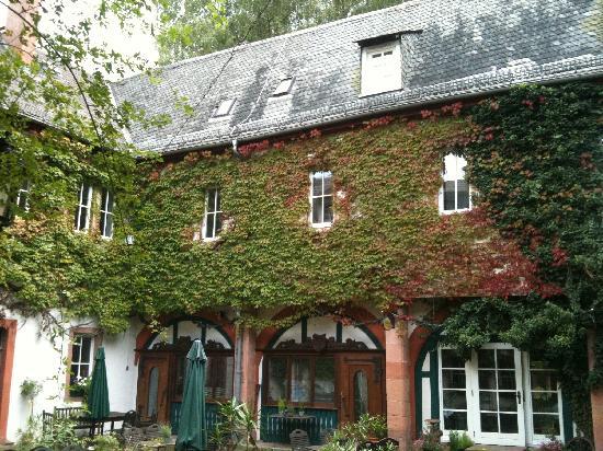 Schlosshotel Rothenbuch: Innenhof