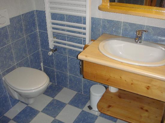 Hotel Hermine Blanche : Salle de bain