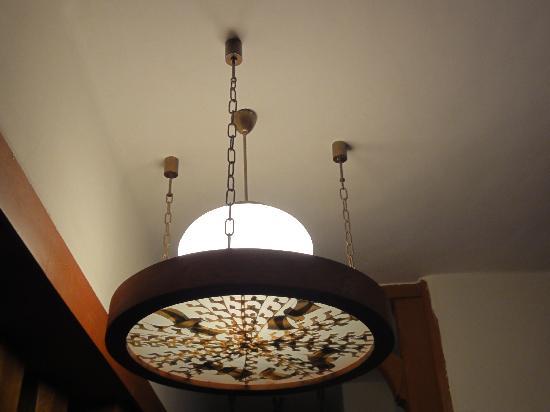 Villa Dr. Szontagh: lamp - inside