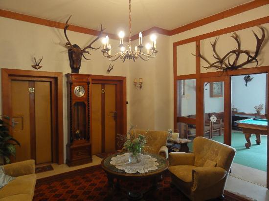 Villa Dr. Szontagh: club room