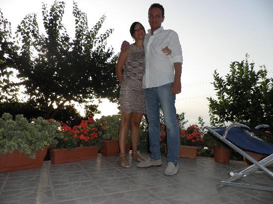 Alle Ginestre Capri Bed & Breakfast: terrazzino