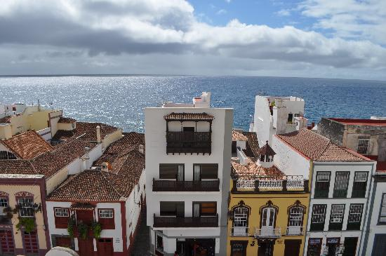 Apartamentos La Fuente: View from our private terrace
