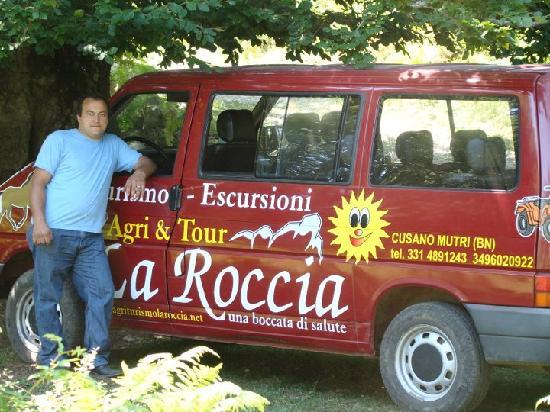 Agriturismo La Roccia : Pullmino escursioni