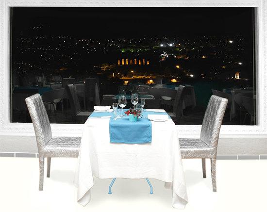 Akropolis Restaurant: Cena Panoramica valle dei templi