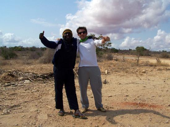 Ndohakashani Tours: simone (io) con sansone