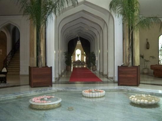 Es Saadi Marrakech Resort - Palace : Une entrée magnifique