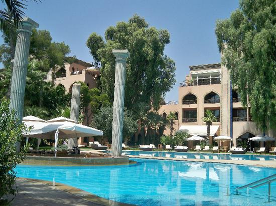 Es Saadi Marrakech Resort - Palace : Le lagon