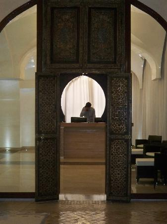 Es Saadi Marrakech Resort - Palace : Entrée du SPA