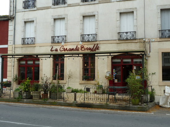 La Grande Bouffe: The restaurant opposite the canal