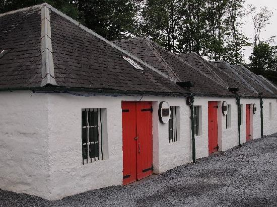 Edradour Distillery: out buildings
